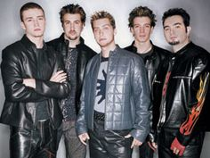 *NSYNC.  Yeah yeah, I know so not cool.  Still proud to claim it... I loved them so dearly.