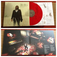 Kill the Wolf by Matt Berry limited deluxe red vinyl gatefold album.