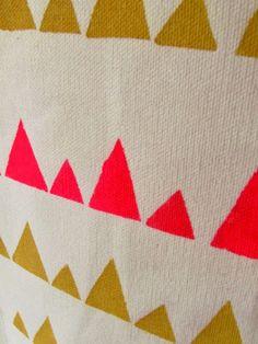 Casa Andersen: Casa Andersen handmade geometric fabrics