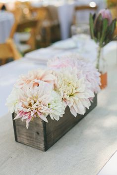 pale pink dahlias  Photography by onelove photography / onelove-photo.com, Wedding Design and Coordination by Elsa Vera / elsavera.com/, Floral Design by Floral Theory / floraltheory.com/index2.php
