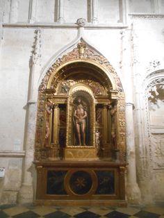 Ecce Homo de Diego de Siloé en la Catedral de San Antolín.