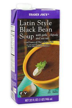 Latin Style Black Bean Soup