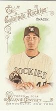 2014 Allen Ginter Baseball Mini A&G Back #109 Jhoulys Chacin, Colorado Rockies