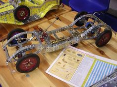 CHASSIS AUTOMOBILE en MECCANO - Le blog de CHAUDRON James