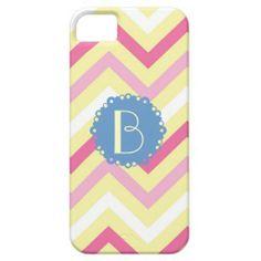 #Monogram, #Chevron pastel colors, #iPhone 5/5s #cases