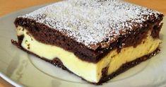 Čokoládovo-tvarohový koláč - Receptik.sk Cookie Recipes, Dessert Recipes, Desserts, Slovak Recipes, European Dishes, Sweets Cake, Healthy Diet Recipes, Sweet And Salty, Mini Cakes