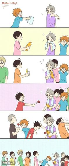 Mothers Day in Karasuno