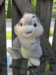 Thumper Bambi's Friend Bunny Rabbit Walt Disney Store Core Stuffed Plush Toy  #Disney