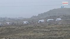 Three hot air balloons crash lands in Central Turkey due to strong winds. Injuring 49.