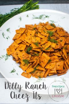 Dilly Ranch Cheez-Its are a three-ingredient snack that will have you covered for every binge-watch, football game, and poolside party. Cheez It Snack Mix Recipe, Snack Mix Recipes, Beef Recipes, Cooking Recipes, Yummy Recipes, Recipies, Yummy Appetizers, Yummy Snacks, Appetizer Recipes