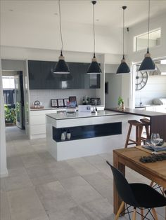 Living Area, Pantry, Kitchen Island, Kitchens, Table, Furniture, Home Decor, Pantry Room, Island Kitchen