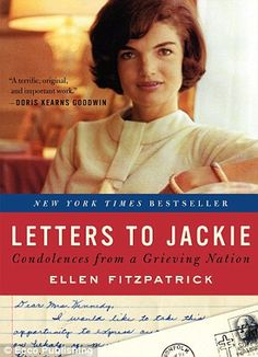 Inspiration: The upcoming documentary is based on the book Letters to Jackie by Ellen Fitzpatrick -   A-list stars to read Jackie Kennedy's moving letters of condolence sent after President's assassination in new documentary    Read more: http://www.dailymail.co.uk/femail/article-2304235/A-list-stars-read-Jackie-Kennedys-moving-letters-condolence-sent-Presidents-assassination-new-documentary.html#ixzz2PbIyVkvB   Follow us: @MailOnline on Twitter | DailyMail on Facebook