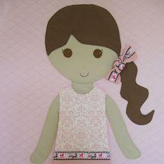 Elena by PaperDollBlanket on Etsy