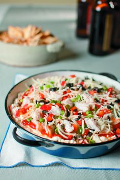 Annie's Catfish Appetizer — The Catfish Institute Ground Red Pepper, Crab Boil, Cocktail Sauce, Worcestershire Sauce, Green Onions, Catfish, Red Peppers, Mozzarella, Sour Cream