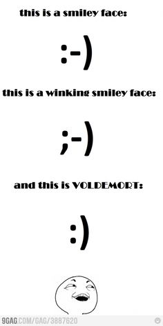 Just smiley faces...