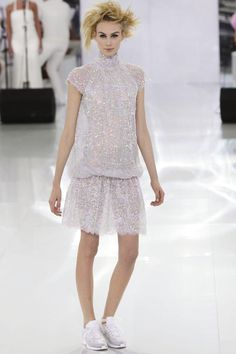 Chanel Haute Couture Spring Summer 2014 Paris - NOWFASHION