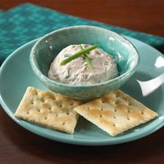 Cream Cheese and Anchovy Spread Cream Cheese Dips, Cream Cheese Spreads, Soften Cream Cheese, Anchovy Recipes, Party Dips, Fish And Seafood, Food Porn, Appetizers, Sweet