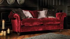 Etienne Sofa by Parker Knoll Luxury Interior, Luxury Furniture, Interior Design, Parker Knoll, The Big Comfy Couch, Spanish Interior, Living Room Red, Red Sofa, Living Room Designs