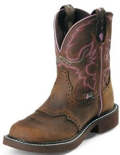 Justin Women's Aged Bark Gypsy Cowgirl Boots [L9903]