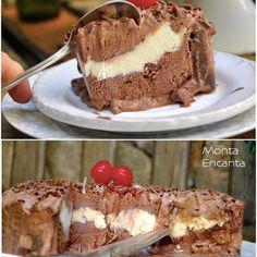 Sorvetão de Prestígio. Camada de sorvete chicakon, recheio de prestigio e chocolates prestigio ao redor com raspas de chocolate para decorar! nhamy nhamyFica lindo, todo cheio de charme, servido com muito capricho... nem por isso, difícil de fazer.Bem fácil e muito rápido de montar. No buscador do site, digite SORVETÃOe escolha o seu preferido.#sorvetao #sorvetaodeprestigio #recheiodeprestigio #chocolateprestigio #montaencanta #chicabon #sorvetechicabon #kibon ***SE VOCÊ GOSTA DO…