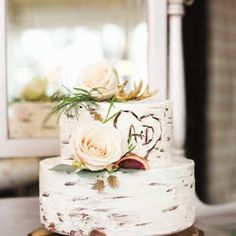 This rustic wedding