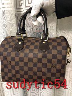 1e5622c80bd7 100% Authentic LOUIS VUITTON Handbag Damier Ebene Speedy 35 LV Bag  fashion   clothing  shoes  accessories  womensbagshandbags (ebay link)