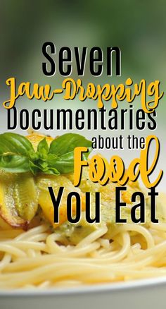 This list of documentaries about your food is bound to change the way you eat. You won't believe some of the facts in store for you! These are all amazing documentaries that everyone should see. Best Documentaries On Netflix, Health Documentaries, Netflix Movies, Non Organic, Childhood Obesity, Plant Based Diet, Feel Good, Healthy Living, Food And Drink
