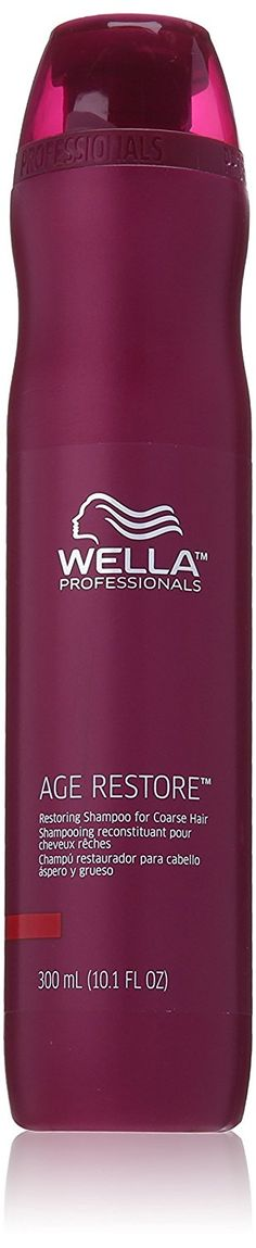Wella Age Restore Restoring Shampoo for Coarse Hair for Unisex, 10.1 Ounce *** To view further for this item, visit the image link.