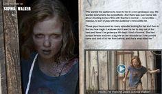 Greg Nicotero on Sophia Walker, The Walking Dead Walking Dead Zombies, The Walking Dead 2, Walking Dead Series, Madison Lintz, Walking Dead Costumes, Walker Stalker, Talking To The Dead, Zombie Movies, Dead Inside