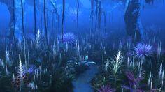 Avatar Fan Film Forest Vegetation Test2 by Massi-San