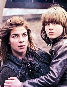 Osha (Natalia Tema) and Bran (Isaac Hempstead-Wright)