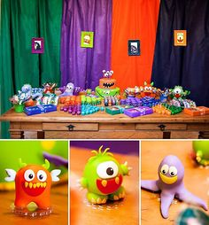 monster dessert table