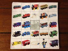 Thomas and friends bingo!
