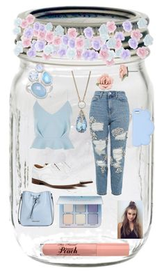"""""""This is probably my worst ever set"""" by pschuy ❤ liked on Polyvore featuring River Island, Topshop, Church's, Betsey Johnson, Armani Jeans, Monsoon, STELLA McCARTNEY, 1928, Anastasia Beverly Hills and contest"""
