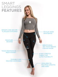 #Leggings which hold your #phone #smart