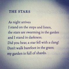 #MilkweedQuotes// Edith Södergran from THE STAR BY MY HEAD.