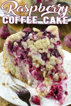 Rich, buttery, perfectly moist Raspberry Coffee Cake with Cream Cheese! Super easy and perfect for breakfast,dinner or brunch! Cream Cheese Coffee Cake, Cake With Cream Cheese, Cupcakes, Cupcake Cakes, Raspberry Coffee Cakes, Raspberry Cake, Cake Recipes, Dessert Recipes, Brunch Recipes