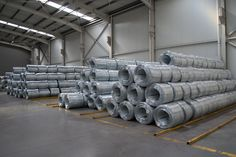 #galvanized #wire #ready #orders #coils #warehouse #kamaridis #kamaridis_global_wire Construction Nails, Roll Forming, Chain Link Fence, Low Carbon, Steel Sheet, Wire Mesh, Greece, Architecture, Wood