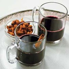 Cozy up to a roaring fire and pour a mug of our spicy and sweet Mulled Red Wine.