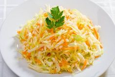 bg traditional kitchen- salad with cabbage and carrots Top Salad Recipe, Salad Recipes, Diet Recipes, Snack Recipes, Cooking Recipes, Healthy Recipes, Slimming Recipes, Cabbage Salad, Russian Recipes