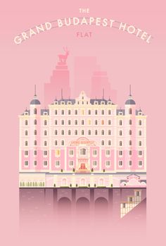 The Grand Budapest Hotel · Flat by LORENA .G