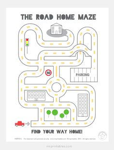 Maze Worksheets for Kids. 20 Maze Worksheets for Kids. Free Printable Mazes and Other Printable Activities for Mazes For Kids Printable, Mr Printables, Preschool Printables, Puzzles For Kids, Worksheets For Kids, Free Printable, Kids Mazes, Maze Games For Kids, Maze Worksheet
