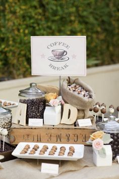 """""""Love is Brewing"""": Coffee Incorporated into Your Wedding 