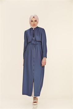 Zarif Nakış İşlemeli Hakim Yakalı İndigo Pardesü Indigo, Duster Coat, Pants, Jackets, Fashion, Down Jackets, Moda, Trousers, Indigo Dye