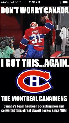 001109514a289cf06391f8709d2ac3dc nhl playoffs montreal canadiens 2014 nhl playoffs rd 1 bolts vs habs by epoole88 sports,Montreal Canadians Memes