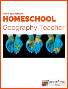 How to be an Amazing Homeschool Geography Teacher @Education Possible  To help our students learn more about our global-minded world they should take at least one geography course during their middle or high school years. But, what if you don't feel prepared to teach this information to your kids? Don't worry, we have you covered!  We have gathered helpful ideas and resources you will need to be an amazing homeschool geography teacher.