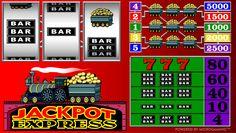 Jackpot Express - http://www.777online-slots.com/online-slot-machine-jackpot-express/