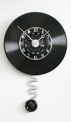 Decoração de A a Z: Disco de Vinil .....Idéias