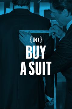 Buy a suit. Avoid bargains. Know your likes, your dislikes, and what you need it for (work, funerals, court). Squeeze the fabric -- if it bounces back with little or no sign of wrinkling, that means it's good, sturdy material. And tug the buttons gently. If they feel loose or wobbly, that means they're probably coming off sooner rather than later. The jacket's shoulder pads are supposed to square with your shoulders; if they droop off or leave dents in the cloth, the jacket's too big. The…