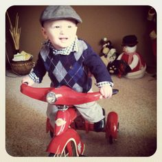 Tylers new bike from papa :)